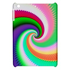 Colorful Spiral Dragon Scales   Apple Ipad Mini Hardshell Case by designworld65
