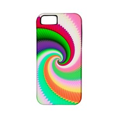 Colorful Spiral Dragon Scales   Apple Iphone 5 Classic Hardshell Case (pc+silicone) by designworld65