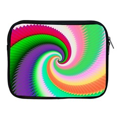 Colorful Spiral Dragon Scales   Apple Ipad 2/3/4 Zipper Cases by designworld65