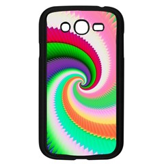 Colorful Spiral Dragon Scales   Samsung Galaxy Grand Duos I9082 Case (black) by designworld65