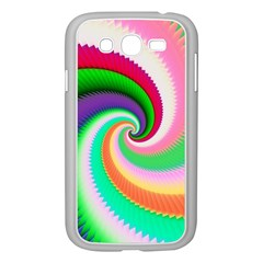 Colorful Spiral Dragon Scales   Samsung Galaxy Grand DUOS I9082 Case (White)