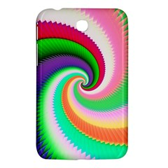 Colorful Spiral Dragon Scales   Samsung Galaxy Tab 3 (7 ) P3200 Hardshell Case