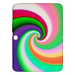 Colorful Spiral Dragon Scales   Samsung Galaxy Tab 3 (10.1 ) P5200 Hardshell Case