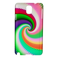 Colorful Spiral Dragon Scales   Samsung Galaxy Note 3 N9005 Hardshell Case by designworld65