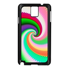 Colorful Spiral Dragon Scales   Samsung Galaxy Note 3 N9005 Case (Black)