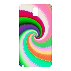 Colorful Spiral Dragon Scales   Samsung Galaxy Note 3 N9005 Hardshell Back Case by designworld65