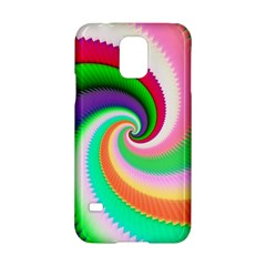 Colorful Spiral Dragon Scales   Samsung Galaxy S5 Hardshell Case  by designworld65