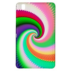 Colorful Spiral Dragon Scales   Samsung Galaxy Tab Pro 8 4 Hardshell Case by designworld65