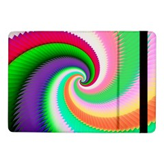 Colorful Spiral Dragon Scales   Samsung Galaxy Tab Pro 10 1  Flip Case by designworld65