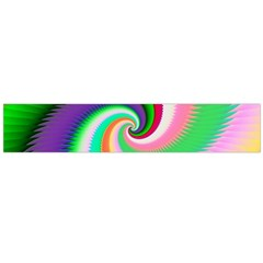 Colorful Spiral Dragon Scales   Flano Scarf (large) by designworld65