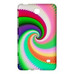 Colorful Spiral Dragon Scales   Samsung Galaxy Tab 4 (8 ) Hardshell Case  by designworld65