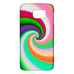 Colorful Spiral Dragon Scales   Galaxy S6 by designworld65