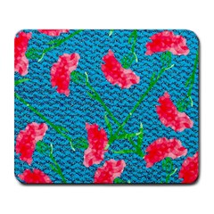 Carnations Large Mousepads