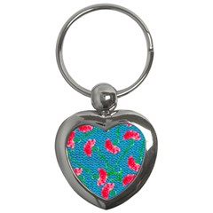 Carnations Key Chains (Heart)