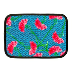 Carnations Netbook Case (medium)  by DanaeStudio