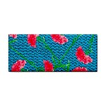 Carnations Hand Towel Front