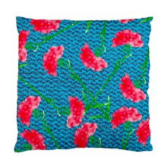Carnations Standard Cushion Case (One Side)