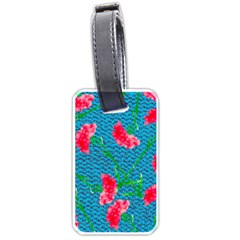 Carnations Luggage Tags (Two Sides)