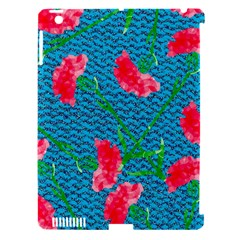 Carnations Apple iPad 3/4 Hardshell Case (Compatible with Smart Cover)