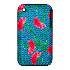 Carnations Apple iPhone 3G/3GS Hardshell Case (PC+Silicone)