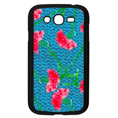 Carnations Samsung Galaxy Grand Duos I9082 Case (black) by DanaeStudio