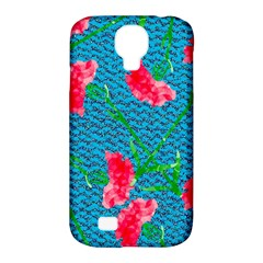 Carnations Samsung Galaxy S4 Classic Hardshell Case (PC+Silicone)