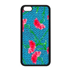 Carnations Apple iPhone 5C Seamless Case (Black)