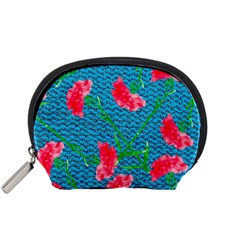 Carnations Accessory Pouches (Small)