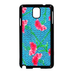 Carnations Samsung Galaxy Note 3 Neo Hardshell Case (Black)