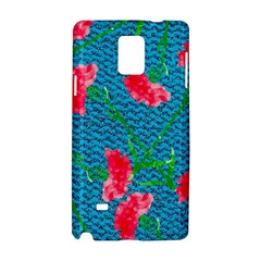 Carnations Samsung Galaxy Note 4 Hardshell Case