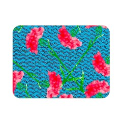 Carnations Double Sided Flano Blanket (Mini)