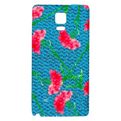 Carnations Galaxy Note 4 Back Case