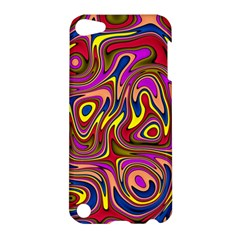 Abstract Shimmering Multicolor Swirly Apple Ipod Touch 5 Hardshell Case by designworld65