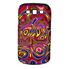 Abstract Shimmering Multicolor Swirly Samsung Galaxy S Iii Classic Hardshell Case (pc+silicone) by designworld65