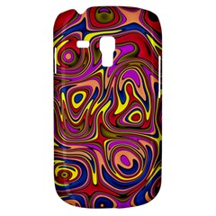 Abstract Shimmering Multicolor Swirly Samsung Galaxy S3 Mini I8190 Hardshell Case by designworld65