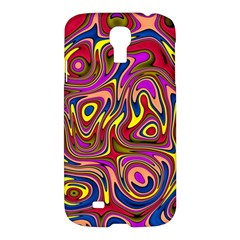 Abstract Shimmering Multicolor Swirly Samsung Galaxy S4 I9500/i9505 Hardshell Case by designworld65