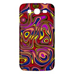 Abstract Shimmering Multicolor Swirly Samsung Galaxy Mega 5 8 I9152 Hardshell Case  by designworld65