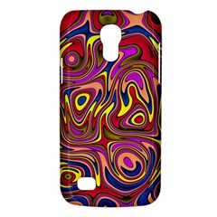 Abstract Shimmering Multicolor Swirly Galaxy S4 Mini by designworld65