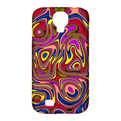 Abstract Shimmering Multicolor Swirly Samsung Galaxy S4 Classic Hardshell Case (pc+silicone) by designworld65