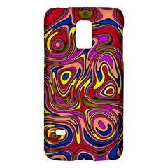 Abstract Shimmering Multicolor Swirly Galaxy S5 Mini by designworld65