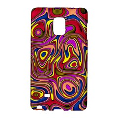 Abstract Shimmering Multicolor Swirly Galaxy Note Edge by designworld65