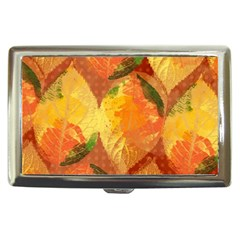 Fall Colors Leaves Pattern Cigarette Money Cases by DanaeStudio