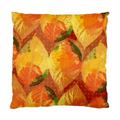 Fall Colors Leaves Pattern Standard Cushion Case (one Side) by DanaeStudio