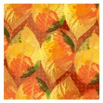 Fall Colors Leaves Pattern Small Memo Pads 3.75 x3.75  Memopad