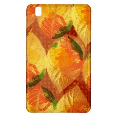 Fall Colors Leaves Pattern Samsung Galaxy Tab Pro 8 4 Hardshell Case by DanaeStudio