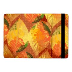 Fall Colors Leaves Pattern Samsung Galaxy Tab Pro 10 1  Flip Case by DanaeStudio