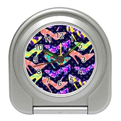 Colorful High Heels Pattern Travel Alarm Clocks