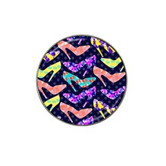 Colorful High Heels Pattern Hat Clip Ball Marker (4 pack)
