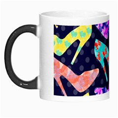 Colorful High Heels Pattern Morph Mugs by DanaeStudio