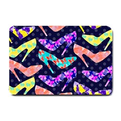 Colorful High Heels Pattern Small Doormat  by DanaeStudio